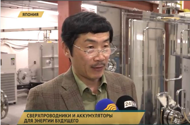 KZ 24: Kazakhstan TV News Highlights about SuperOx Japan LLC
